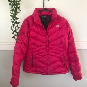The North Face Pink Aconcagua Puffer Jacket